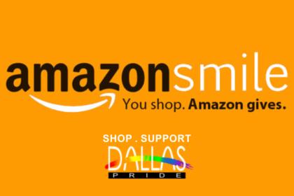 Shop AmazonSmile Support Dallas Pride