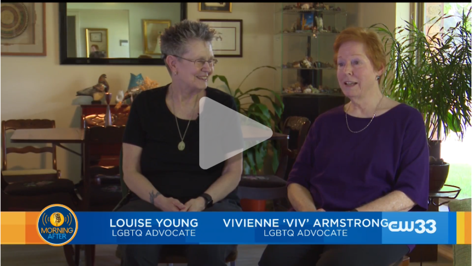 Profiles in Pride - Louise Young and Viv Armstrong