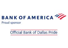 Bank of America Official Bank of Dallas Pride