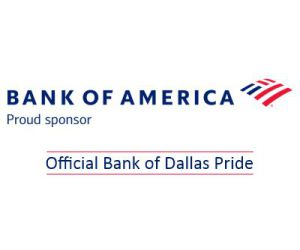 Bank of America - Official Bank of Dallas Pride