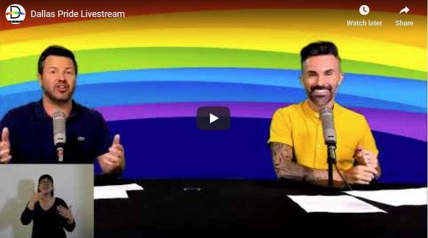 Dallas Pride Livestream
