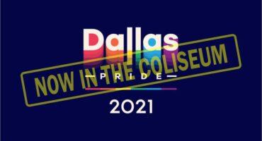 Dallas Pride 2021 now in the Coliseum
