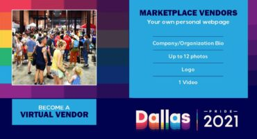 Dallas Pride 2021 Marketplace Vendors