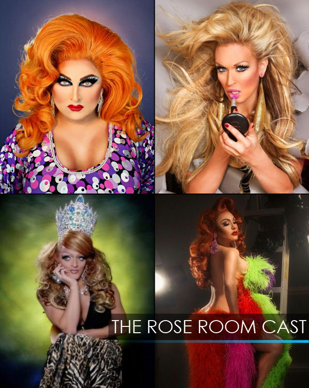 The Cast of The Rose Room