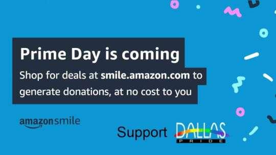 Shop Amazon Prime Day support Dallas Pride